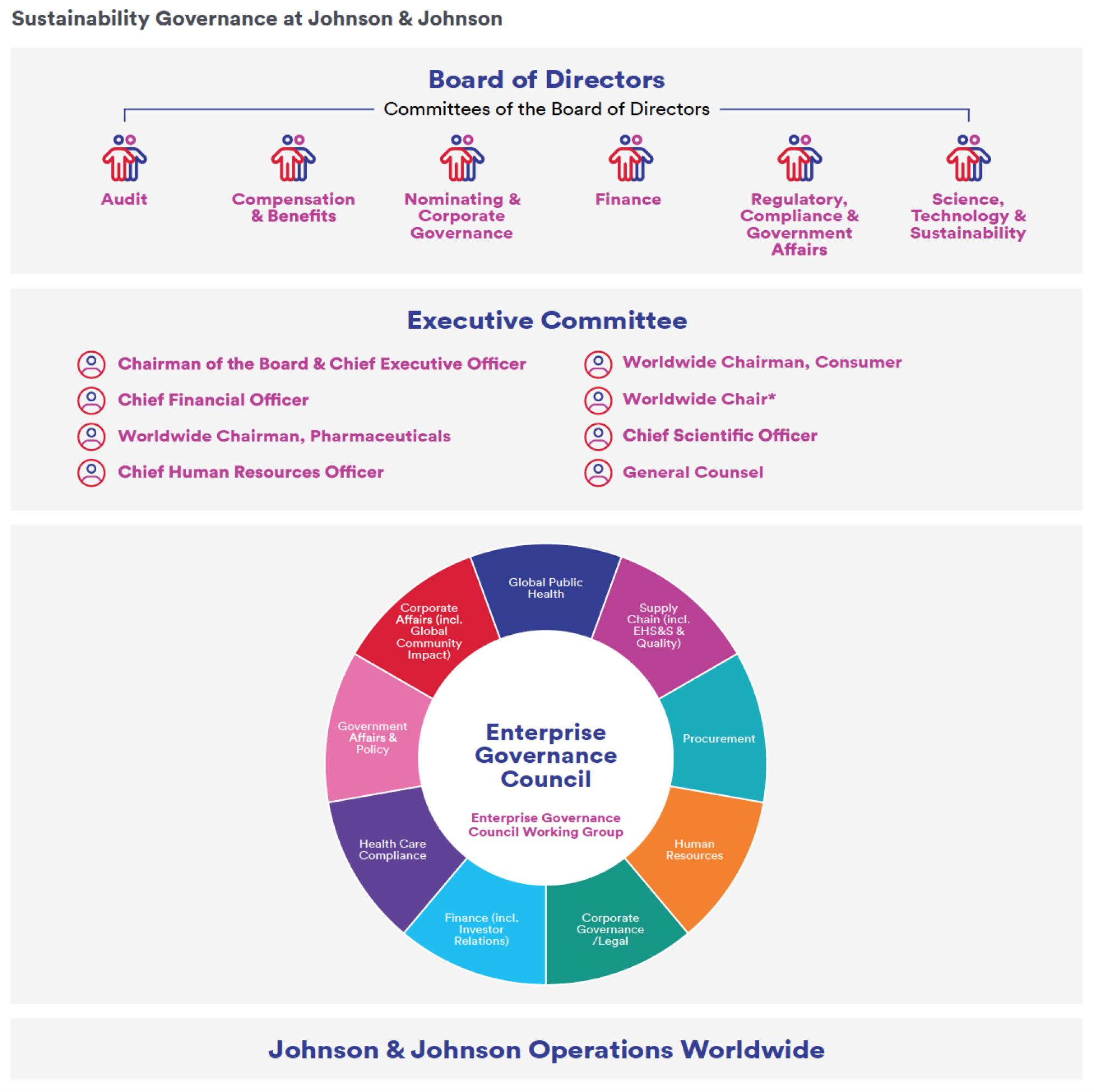 Sustainability Governance at Johnson & Johnson